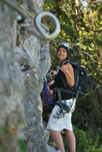 Enjoying a Via Ferrata